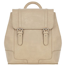 Buy Warehouse Smart Rucksack, Light Grey Online at johnlewis.com