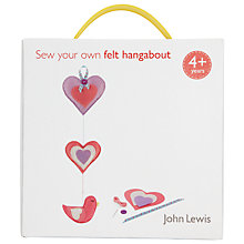 Buy John Lewis Sew Your Own Felt Hangabout Online at johnlewis.com