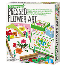 Buy Great Gizmos Pressed Flower Art Kit Online at johnlewis.com