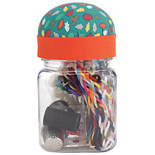 Buy John Lewis Fox Sewing Essentials & Storage Jar Online at johnlewis.com