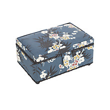 Buy John Lewis Japanese Floral Rectangular Sewing Basket, Multi Online at johnlewis.com