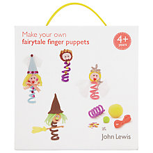 Buy John Lewis Fairytale Finger Puppets Online at johnlewis.com