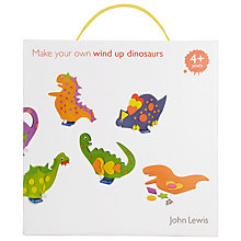 Buy John Lewis Make Your Own Wind Up Dinosaurs Online at johnlewis.com