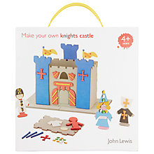 Buy John Lewis Make Your Own Knights Castle Online at johnlewis.com