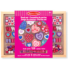 Buy Melissa & Doug Sweet Hearts Bead Set Online at johnlewis.com