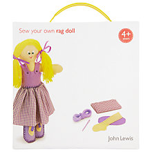 Buy John Lewis Sew Your Own Rag Doll Online at johnlewis.com