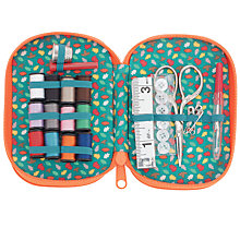 Buy John Lewis Fox Zip Sewing Kit Online at johnlewis.com
