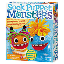 Buy Great Gizmos Sock Puppet Monster Online at johnlewis.com
