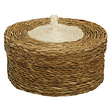 Buy Gone Rural Woven Grass Coasters, Set of 6 Online at johnlewis.com