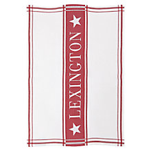 Buy Lexington Stripe Tea Towel, Red/White Online at johnlewis.com