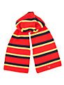Gant Block Stripe Scarf, Red