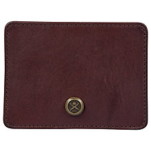 Buy Hackett London Credit Card Holder, Brown Online at johnlewis.com