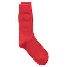 Buy Gant Soft Cotton Socks, One Size, Red Online at johnlewis.com