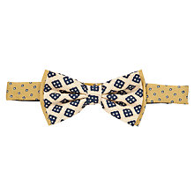 Buy Scotch & Soda 70s Bow Tie, Cream Online at johnlewis.com