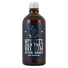 Buy Mr Natty's Jack Tar's Bay Rum Aftershave Online at johnlewis.com