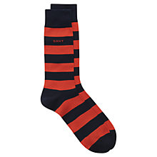 Buy Gant Barstripe Socks, One Size Online at johnlewis.com