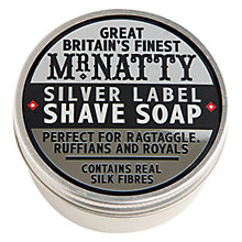 Buy Mr Natty's Silver Label Shave Soap Online at johnlewis.com