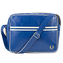 Buy Fred Perry Classic Shoulder Bag, Dark Blue Online at johnlewis.com