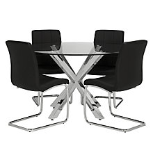 Buy John Lewis Star Dining Table and 4 Aleeya Chairs Set Online at johnlewis.com