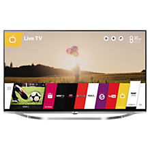 "Buy LG 65UB950V LED 4K Ultra HD 3D Smart TV, 65"" with Freeview HD & Integrated Subwoofer Online at johnlewis.com"