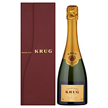 Buy Krug Grande Cuvée Champagne, 37.5cl Online at johnlewis.com