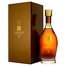 Buy Glenmorangie Quarter Century 25 Year Old Single Malt Whisky, 70cl Online at johnlewis.com