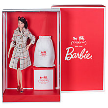 Buy Coach Barbie Designer Doll Online at johnlewis.com