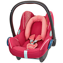Buy Maxi-Cosi Cabriofix Infant Carrier, Origami Rose Online at johnlewis.com