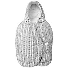 Buy Maxi-Cosi Pebble Car Seat Footmuff, Graphic Crystal Online at johnlewis.com