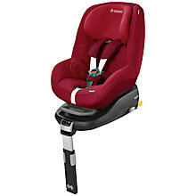 Buy Maxi-Cosi Pearl Car Seat, Raspberry Online at johnlewis.com