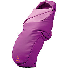 Buy Quinny Universal Footmuff, Violet Focus Online at johnlewis.com