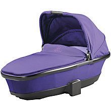 Buy Quinny Foldable Carrycot, Purple Pace Online at johnlewis.com