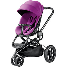 Buy Quinny Moodd Pushchair, Violet Focus Online at johnlewis.com