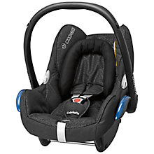 Buy Maxi-Cosi Cabriofix Infant Carrier, Modern Black Online at johnlewis.com