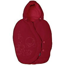 Buy Maxi-Cosi Pebble Car Seat Footmuff, Raspberry Online at johnlewis.com