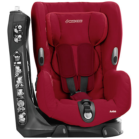 Buy Maxi-Cosi Axiss Car Seat, Raspberry Online at johnlewis.com