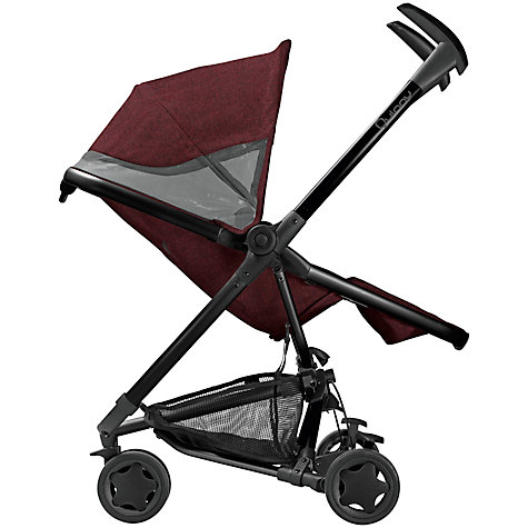 Buy Quinny Zapp Xtra2 Pushchair, Red Denim Online at johnlewis.com