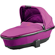 Buy Quinny Foldable Carrycot, Violet Focus Online at johnlewis.com