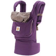 Buy Ergobaby Original Baby Carrier, Purple Online at johnlewis.com