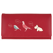 Buy Radley A Little Bird Told Me Large Leather Matinee Purse Online at johnlewis.com
