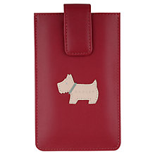 Buy Radley Heritage Dog Leather iPhone Case Online at johnlewis.com