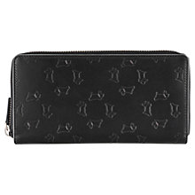 Buy Radley Large Zip Matinee Leather Purse, Black Online at johnlewis.com