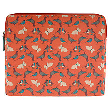 Buy Radley A Little Bird Told Me iPad Cover, Orange Online at johnlewis.com