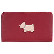 Buy Radley Heritage Dog Medium Leather Zip Purse Online at johnlewis.com