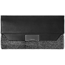 Buy Calvin Klein Taylor Leather Clutch Bag Online at johnlewis.com