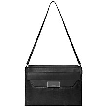 Buy Calvin Klein Taylor Small Leather Shoulder Bag Online at johnlewis.com