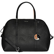 Buy Calvin Klein Sofie Leather Bowling Bag Online at johnlewis.com