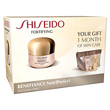 Buy Shiseido Benefiance Nutri-Perfect Day Cream Set Online at johnlewis.com