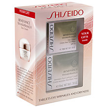 Buy Shiseido Benefiance WrinkleResist24 Eye Wrinkle Set Online at johnlewis.com