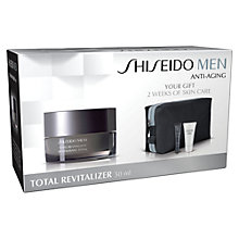 Buy Shiseido Men's Vitality Set Online at johnlewis.com
